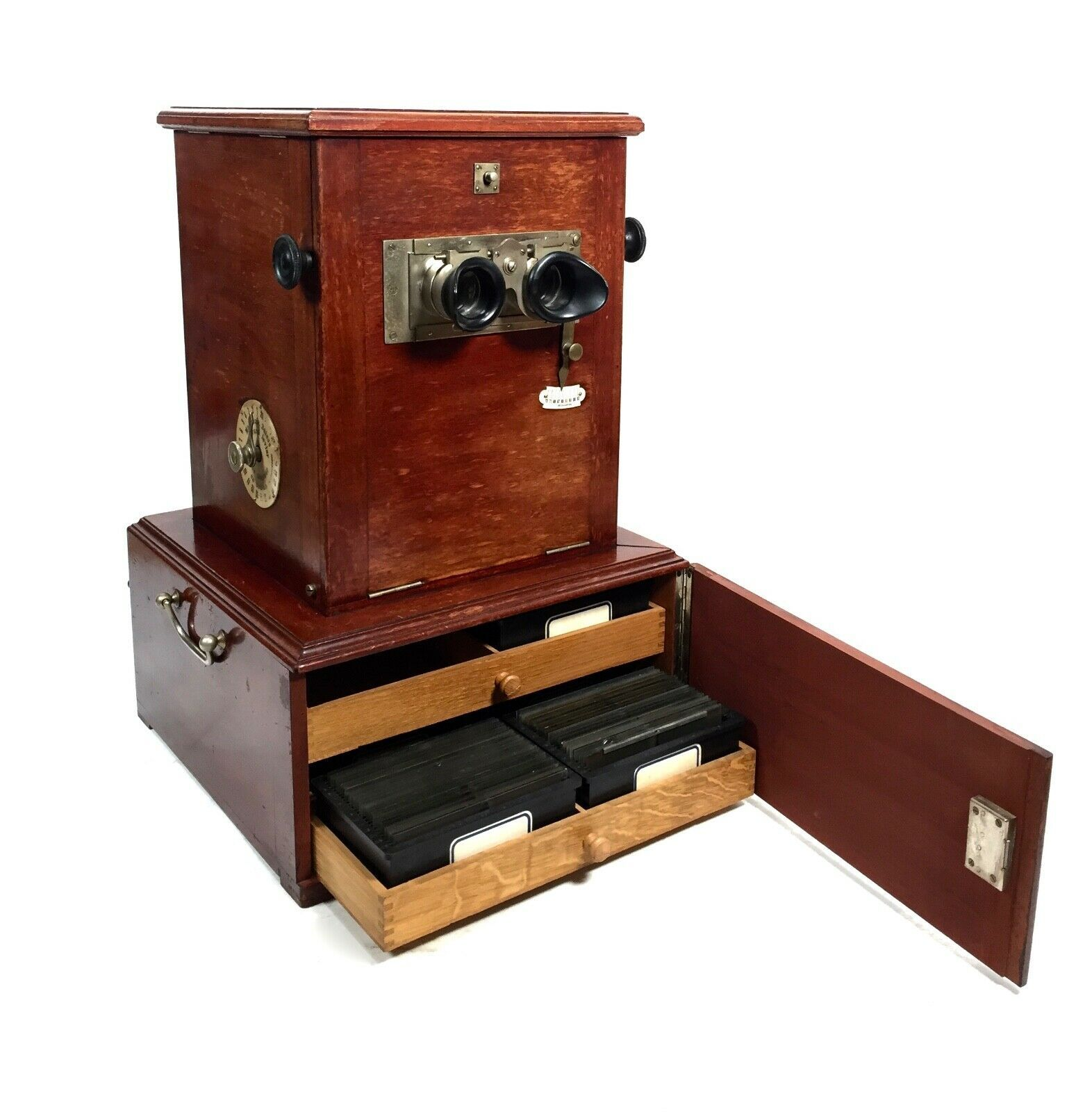 Antique French Mahogany Le Taxiphote